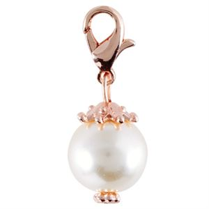 Picture of Champagne Pearl with Rose Gold Droplet